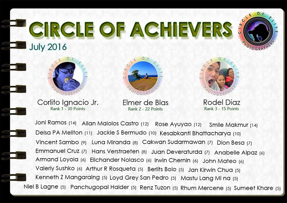 Circle of Achievers - July 2016